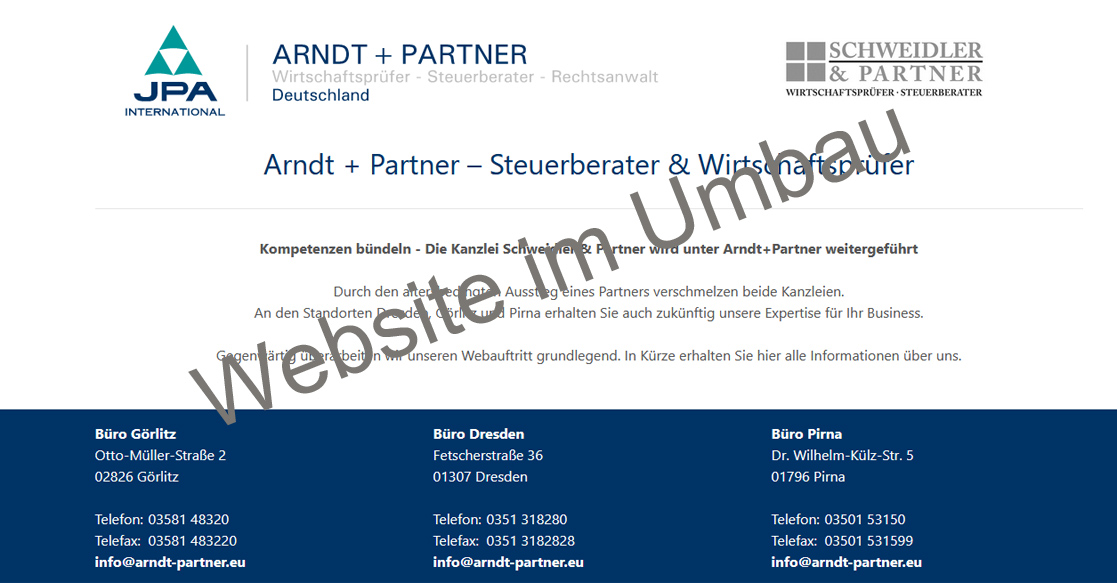 Arndt & Partner Website Relaunch | MubVideoDesign