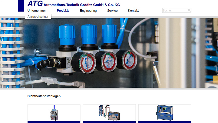 Website ATG Gröditz GmbH | MUBVideoDesign
