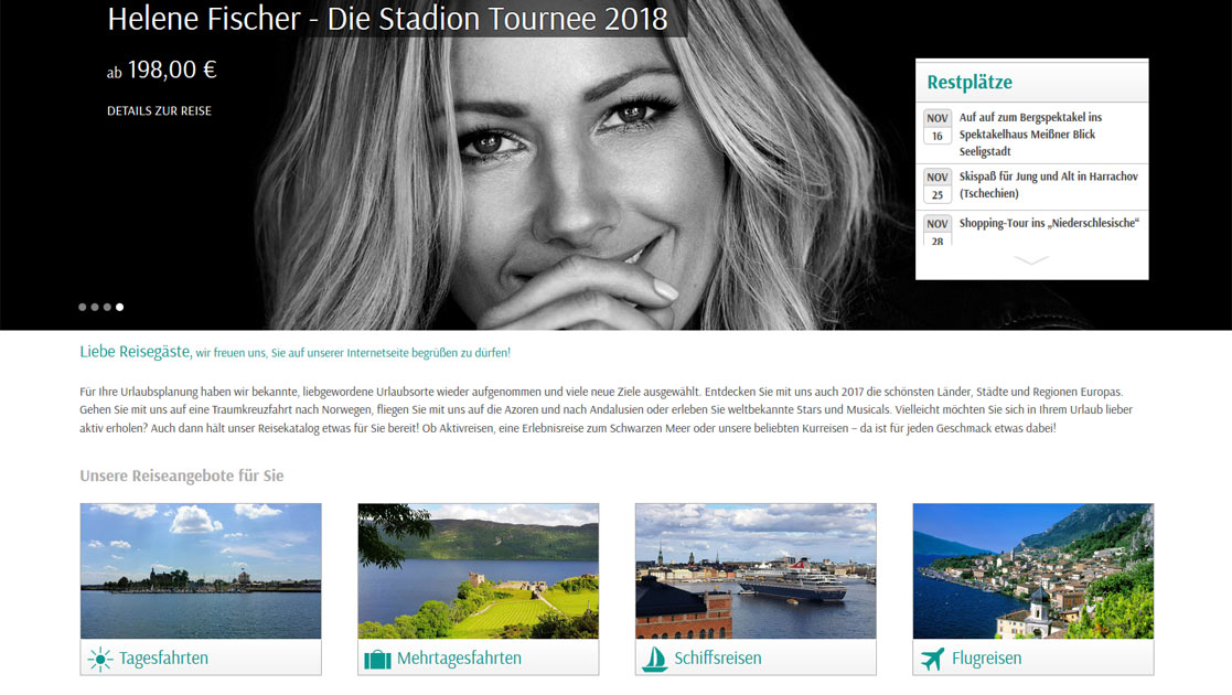 Website Kretzschmar Busreisen | MUBVideoDesign