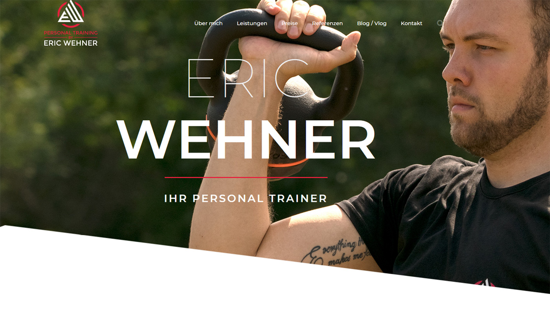 Website und Videoproduktion für Personal Trainer| MubVideoDesign