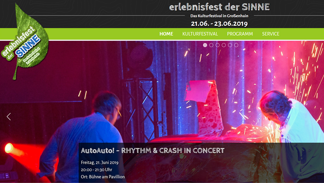 Erlebnisfest Website Relaunch | MUBVideoDesign