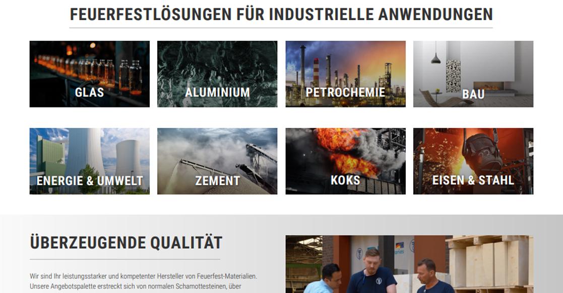 P-D Refractories Relaunch Website | MUBVideoDesign