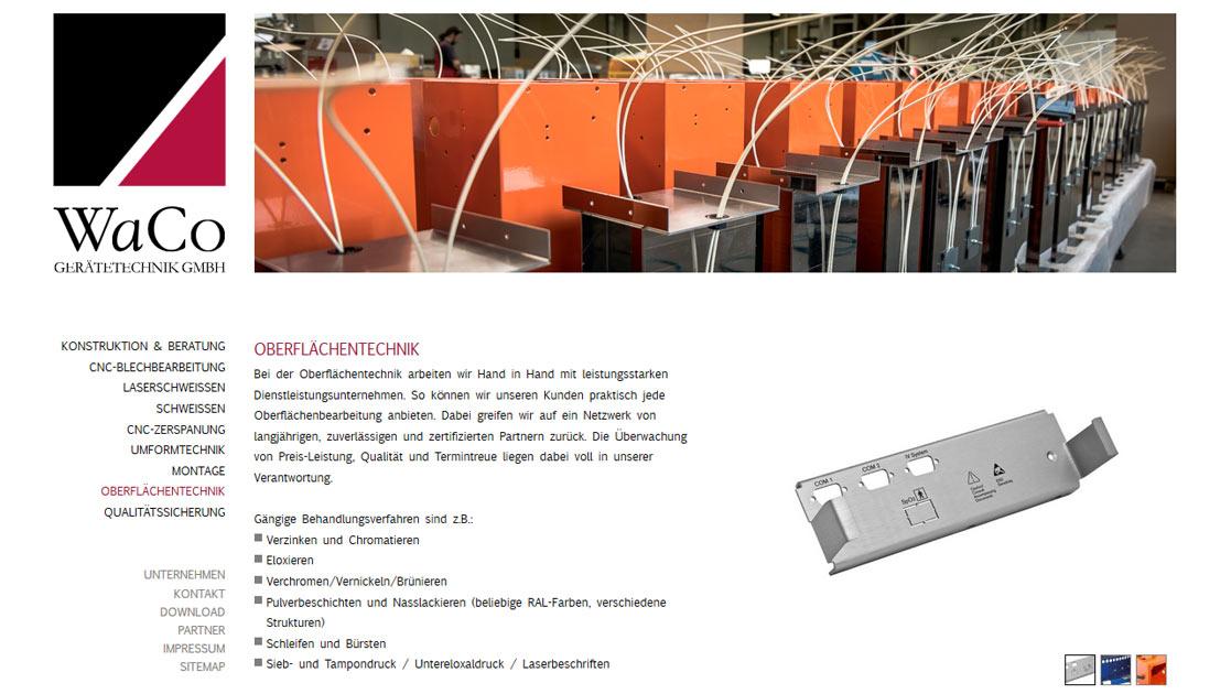 Projekt Waco Gerätetechnik GmbH | MUBVideoDesign