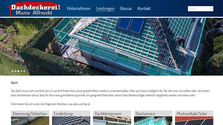 Projekt Dachdeckerei Albrecht | MUB VideoDesign