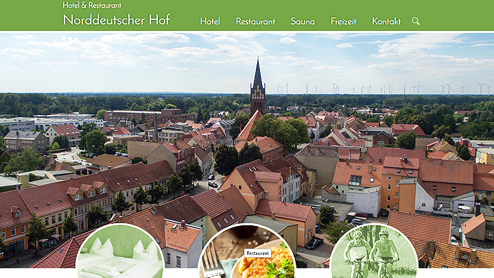 Website Hotel Norddeutscher Hof Bad Liebenwerda | MUBVideoDesign