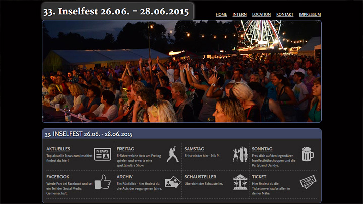 Inselfest Website