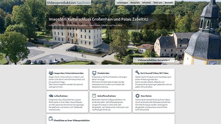 Relaunch der Landingpage Videoproduktion Sachsen