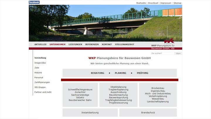 WKP Website mobile